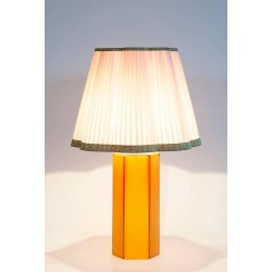 Italian Murano Hexagonal Table Lamp, circa 1980s