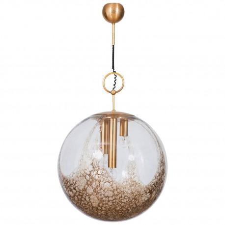 Italian Murano Glass Sphere, Attributed to Mazzega Around 1970s