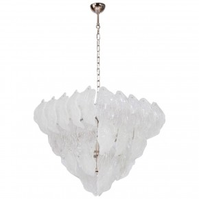 "Italian Murano Glass ""Diamond"" Chandelier, circa 1950s"