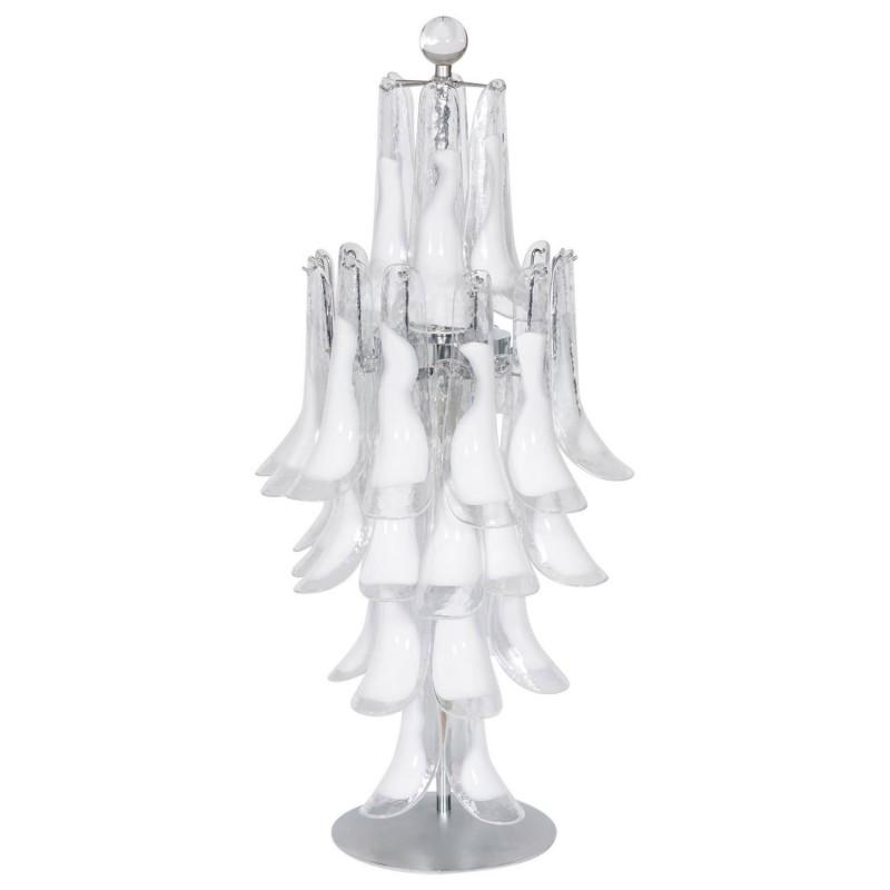 Italian venetian murano glass table lamps vintage and antique italian murano table lamp mazzega aloadofball Gallery