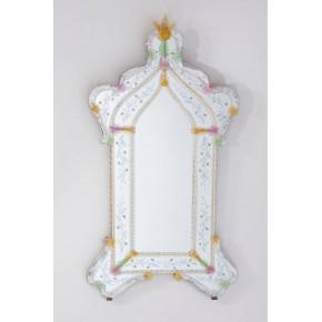Italian Venetian Murano Glass Mirror, circa 1990s