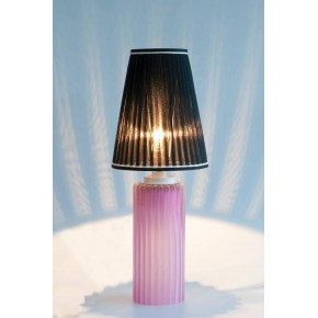 Italian Murano Glass Table Lamp, Cenedese, 1970s