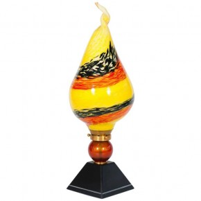 Table Lamp in Murano Glass Multicolor, 1980s