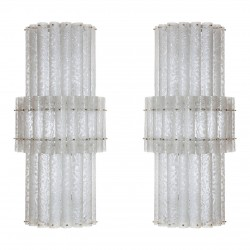 Pair of Italian Sconces Attributed to Mazzega, circa 1970s