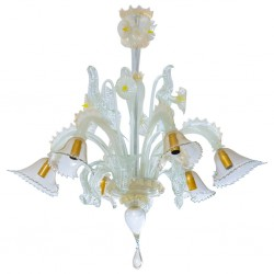 Italian Chandelier Attributed to Cenedese, Circa 1970s