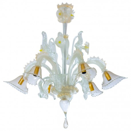 Italian Chandelier Attributed to Cenedese, circa 1970