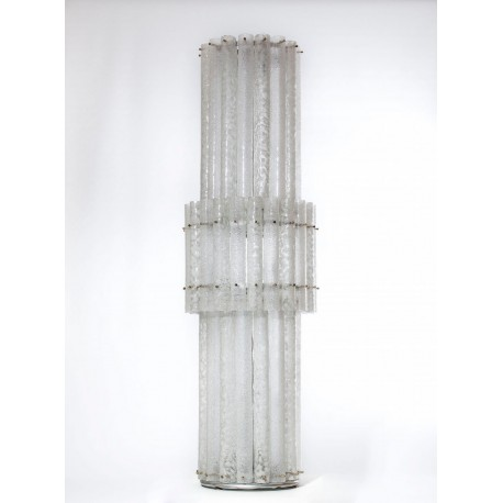 Pair of Italian Floor Lamps Attributed to Mazzega, circa 1970s