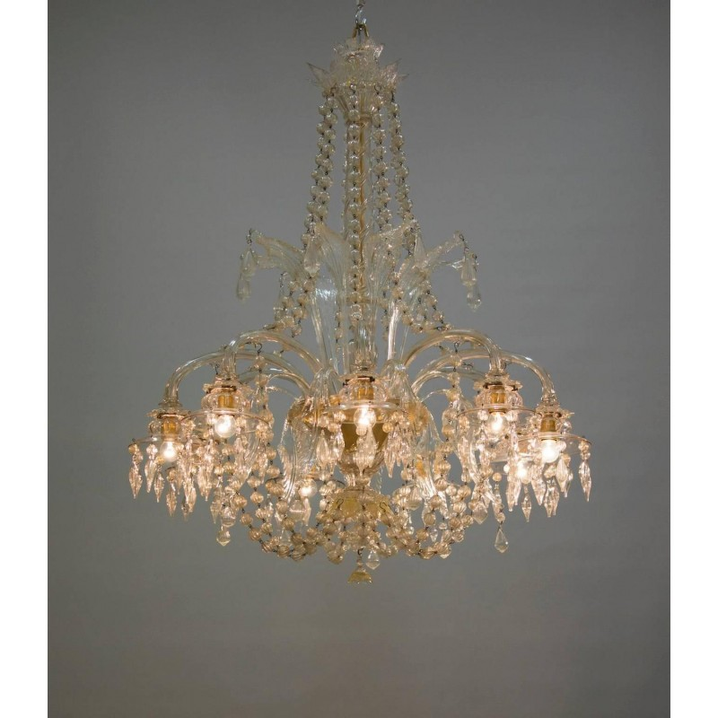 artsy rago larger c chandelier artwork glass chandeliers murano