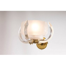Four Italian Sconces Attributed to Camer Glass, circa 1960s