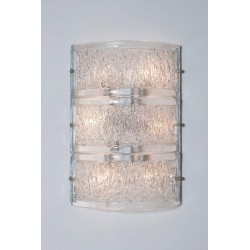 Italian Mid-Century Sconces, Attributed to Camer Glass, circa 1970s