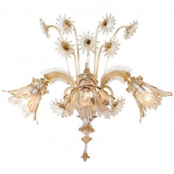 Murano Sconce in the Style of Galliano Ferro, circa 1930s