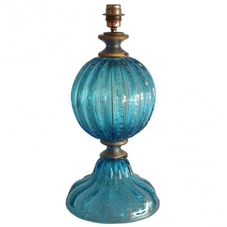 Murano Table Lamp Attributed to Seguso