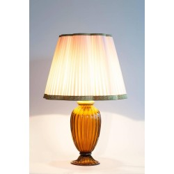 Italian Murano Table Lamp, Signed by Gabbiani, circa 1970s